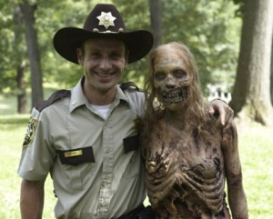 Dade County Sheriff Deputies unable to cope with the stress of zombie apocalypse, befriend undead attackers.